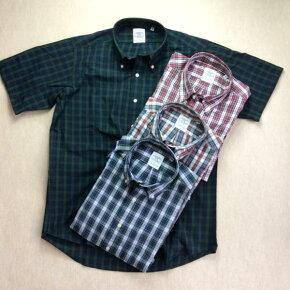 送料無料BAGGY【バギー】半袖ブロードクロスボタンダウンシャツ長袖シャツ大きいサイズ【LL・3L】対応メンズ(男性用)【smtb-m】