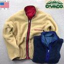 アメリカ製 送料無料 CAMCO【カムコ】フリース ナイロン リバーシブル ジャケット メンズ(男性用) 【smtb-m】