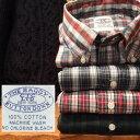 送料無料 BAGGY 【バギー】長袖 ブロードクロス ボタンダウンシャツ 長袖シャツ 大きいサイズ 【LL・3L】 対応 メンズ(男性用)【smtb-…