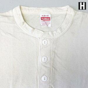HEALTHKNIT【ヘルスニット】906S半袖ヘンリーネックTシャツメンズ