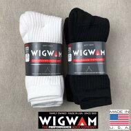 アメリカ製3点購入で送料無料WIGWAM【ウィグワム】S10773足パッククルーソックスMサイズ23cm〜27.5cm対応