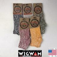 アメリカ製3点購入で送料無料WIGWAM【ウィグワム】F5314クォーターミックスソックス靴下23cm〜27.5cm対応メンズ(男性用)
