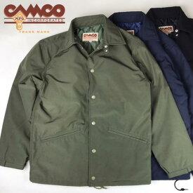 送料無料 CAMCO【カムコ】キルティング コーチジャケット メンズ(男性用)【smtb-m】