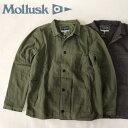 送料無料 MOLLUSK【モラスク】ウォッシュド コットン デッキジャケット メンズ(男性用)【smtb-m】