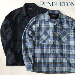 送料無料PENDLETON【ペンドルトン】ウールチェックシャツメンズ【smtb-m】