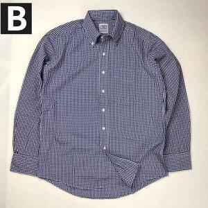 送料無料BAGGY【バギー】長袖ギンガムチェックブロードクロスボタンダウンシャツ長袖シャツ大きいサイズ【LL・3L】対応メンズ(男性用)【smtb-m】