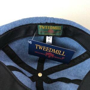 スコットランド製送料無料TWEEDMILL【ツイードミル】フリースキャップ