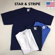 2点購入で送料無料STAR&STRIPE【スター&ストライプ】RIDGES/S半袖ボーダーTシャツメンズ(男性用)