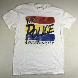 2点購入で送料無料 ROCK TEE【ロック ティー】P-TEE 1 半袖 プリント Tシャツ POLICE【ポリス】 メンズ(男性用)