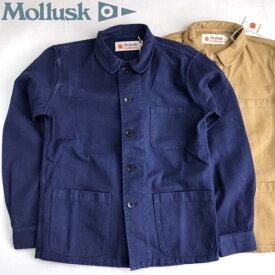 送料無料 MOLLUSK【モラスク】JACKET Builder Jacket ヘビーツイル ウォッシュド コットン デッキジャケット メンズ(男性用)【smtb-m】