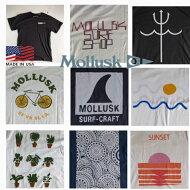 アメリカ製送料無料MOLLUSK【モラスク】P-TEE2半袖プリントTシャツメンズ(男性用)【smtb-m】