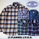 送料無料 BAGGY【バギー】2 LT.FLANNEL B.D L/S ボタンダウン ライトフランネルシャツ メンズ(男性用)【smtb-m】