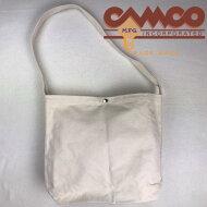 サービス品CAMCO【カムコ】無地コットンキャンバスメールバッグショルダーバッグメンズレディース(男女兼用)