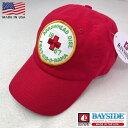 2点購入で送料無料 アメリカ製 BAYSIDE【ベイサイド】【ARROWHEAD】 EMBLEM CAP ベースボールキャップ 帽子 メンズ(男性用)