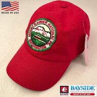 2点購入で送料無料アメリカ製BAYSIDE【ベイサイド】【MOUNT.R】EMBLEMCAPベースボールキャップ帽子メンズ(男性用)