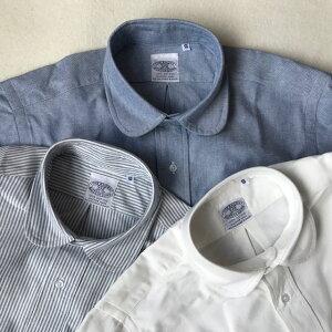 送料無料BAGGY【バギー】長袖オックスフォードラウンドカラーシャツメンズ(男性用)【smtb-m】