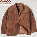 送料無料 CAMCO【カムコ】CORD 3B JACKET コーデュロイ テーラージャケット メンズ(男性用)【smtb-m】