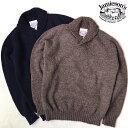 スコットランド製 送料無料 JAMIESON'S【ジャミーソンズ】SHAWL ショールカラー シェットランドセーター メンズ(男性…