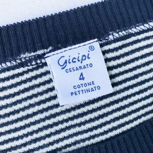イタリア製送料無料GICIPI【ジチピ】GIRO-COLLO鹿の子半袖Tシャツメンズ(男性用)【smtb-m】