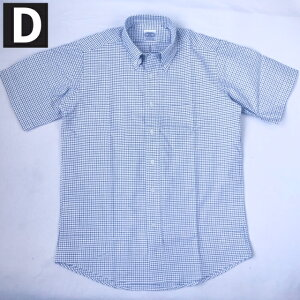 送料無料BAGGY【バギー】半袖カラーオックスフォードシャツボタンダウンシャツ半袖シャツ大きいサイズ対応メンズ(男性用)【smtb-m】