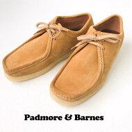 送料無料PADMORE&BARNES【パドモアアンドバーンズ】P204ORIGINALLOWスウェードワラビーローブーツ靴シューズメンズ(男性用)【smtb-m】