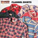 送料無料 CAMCO【カムコ】2020 2 FLANNEL L/S ダブルフェイス ヘビー フランネルシャツ ネルシャツ 長袖シャツ XS-LL(…