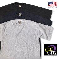 アメリカ製CAL-CRU【カルクルー】ST.TEEボーダー半袖Tシャツメンズ(男性用)