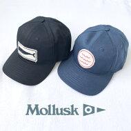 送料無料MOLLUSK【モラスク】PATCHHATコットンキャップベースボールキャップ帽子メンズ(男性用)【smtb-m】