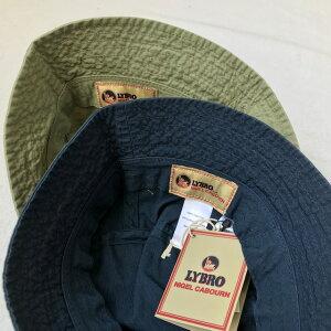 送料無料NIGELCABOURN【ナイジェルケーボン】×LYBRO【ライブロ】ACC-56HATバケットハット帽子メンズ(男性用)【smtb-m】