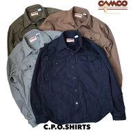 送料無料CAMCO【カムコ】2COTTONC.P.OコットンヘリンボーンCPOシャツメンズ(男性用)【smtb-m】