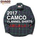 送料無料 CAMCO【カムコ】ダブルフェイス ヘビー フランネルシャツ ネルシャツ 長袖シャツ XS-LL(XL) メンズ(男性用)【smtb-m】