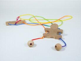 『昇り忍者』【木製 知育玩具】【木のおもちゃ】【ベビー向けおもちゃ】