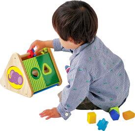 ★送料無料★『トライアングル アクティビティ』【木製 知育玩具】【木のおもちゃ】【パズル】