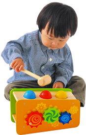 ★送料無料★『ビジーベンチ&タワー』【木製 知育玩具】【木のおもちゃ】【指先】