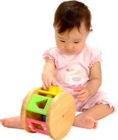 ★送料無料★『木製 KOROKOROパズル』【木製 知育玩具】【木のおもちゃ】