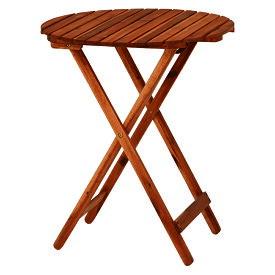 アカシアガーデン テーブル / アカシア ガーデンテーブル 折りたたみ式 ベランダ デッキ ガーデンファニチャー 庭