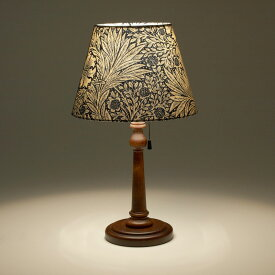 William Morris Marigold スタンドランプ / 照明 間接照明 インテリア照明 ランプ デスクランプ テーブルランプ ライト デスクライト テーブルライト スタンド ベッドサイド フロア ランプシェード ウィリアムモリス 花柄 布 マリーゴールド
