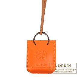 エルメス サック オランジュ フー/ゴールド アニョーミロ/スイフト HERMES Sac orange Feu/Gold Agneau/Swift leather