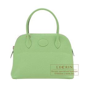 エルメス ボリード27 ヴェールクリケット ヴォーエプソン シルバー金具 HERMES Bolide bag 27 Vert criquet Epsom leather Silver hardware
