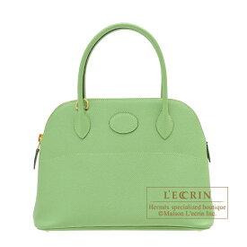 エルメス ボリード27 ヴェールクリケット ヴォーエプソン ゴールド金具 HERMES Bolide bag 27 Vert criquet Epsom leather Gold hardware