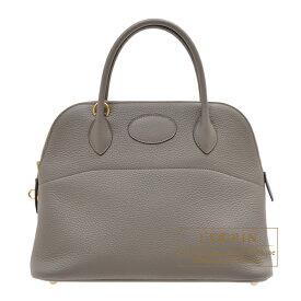 エルメス ボリード31 エタン トリヨンクレマンス ゴールド金具 HERMES Bolide bag 31 Etain Clemence leather Gold hardware