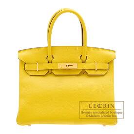 エルメス バーキン30 ジョーヌナプル トリヨンノビーヨ ゴールド金具 HERMES Birkin bag 30 Jaune de naples Novillo leather Gold hardware