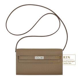エルメス ケリーロング トゥー・ゴー エトゥープ ヴォーエプソン シルバー金具 HERMES Kelly Long To Go Etoupe grey Epsom leather Silver hardware