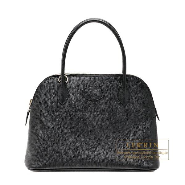 エルメス ボリード27 ブラック ヴォーエプソン シルバー金具 HERMES Bolide bag 27 Black Epsom leather Silver hardware