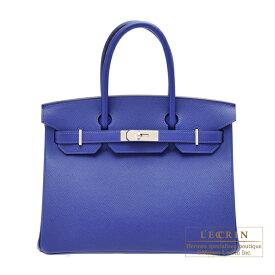エルメス バーキン30 ブルーエレクトリック ヴォーエプソン シルバー金具 HERMES Birkin bag 30 Blue electric Epsom leather Silver hardware