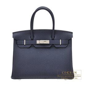 エルメス バーキン30 ブルーニュイ トゴ シルバー金具 HERMES Birkin bag 30 Blue nuit Togo leather Silver hardware