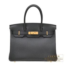 エルメス バーキン30 ブラック トゴ ゴールド金具 HERMES Birkin bag 30 Black Togo leather Gold hardware