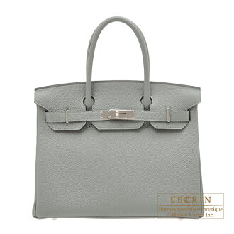 erumesubakin 30 gurimuettotogoshiruba金屬零件HERMES Birkin bag 30 Gris mouette Togo leather Silver hardware