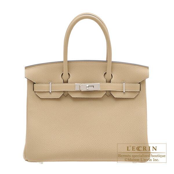エルメス バーキン30 トレンチ トゴ シルバー金具 HERMES Birkin bag 30 Trench Togo leather Silver hardware