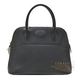 エルメス ボリード31 ブラック トリヨンクレマンス ゴールド金具 HERMES Bolide bag 31 Black Clemence leather Gold hardware